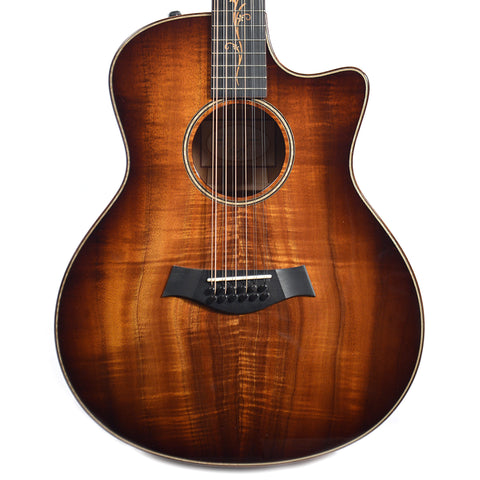 Taylor K66ce 12-String Grand Symphony Hawaiian Koa ES2 (Serial #1105056119)
