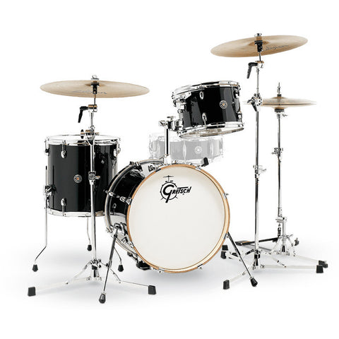 Gretsch Catalina Club Jazz 12/14/18 3pc Drum Kit Piano Black
