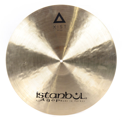 Istanbul Agop 20 Inch Xist Crash Cymbal Natural Finish