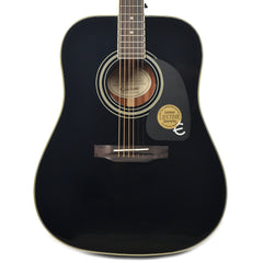Epiphone PRO-1 Plus Dreadnought Acoustic Ebony CH