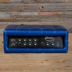 Earth Sound Research Super Guitar G-2000 Head Blue Sparkle Tuck & Roll 1970s