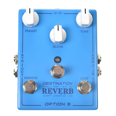 Option 5 Destination Reverb Deluxe