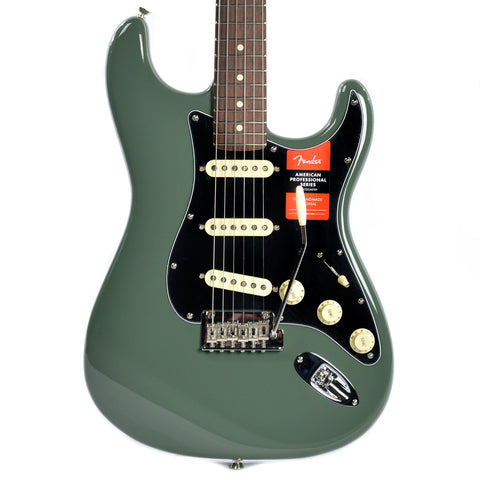 Fender American Pro Stratocaster RW Antique Olive