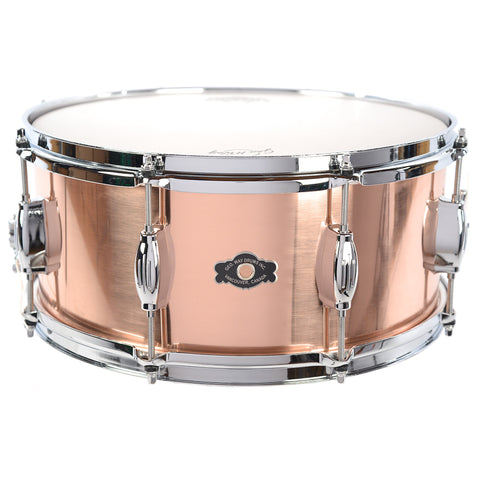 George Way 6.5x14 The Elkhart Medium Weight Copper Snare Drum
