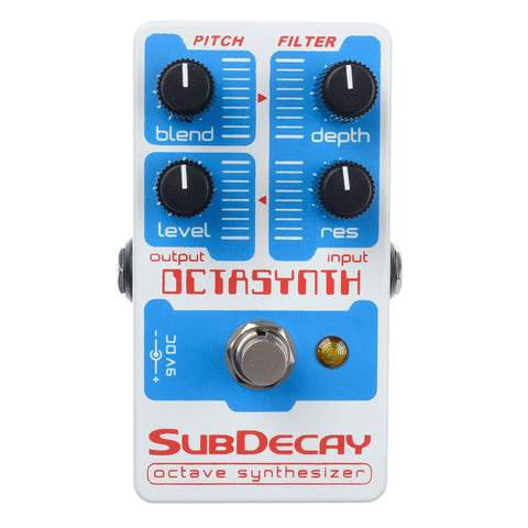 Subdecay Octasynth Octave Synthesizer