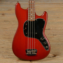 Fender Musicmaster Bass Red 1981 (s241)