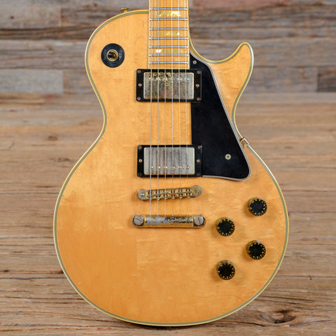 Gibson Les Paul Custom Natural 1977 (s083)