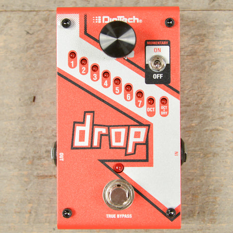 Digitech Drop Polyphonic Drop Tune Pitch-Shifter USED