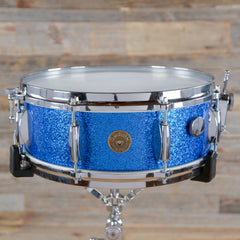 Gretsch 5.5x14 #4157 Name Band Snare Drum Blue Sparkle Early 1960s USED