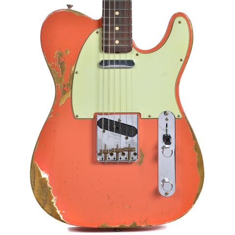 Fender Custom Shop 2017 LTD NAMM 60's Telecaster Heavy Relic/Compound Radius Aged Tahitian Coral