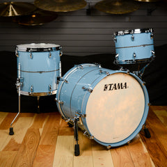 Tama 3 Piece 12/14/20 Star Maple Drum Kit Vintage Sea Blue
