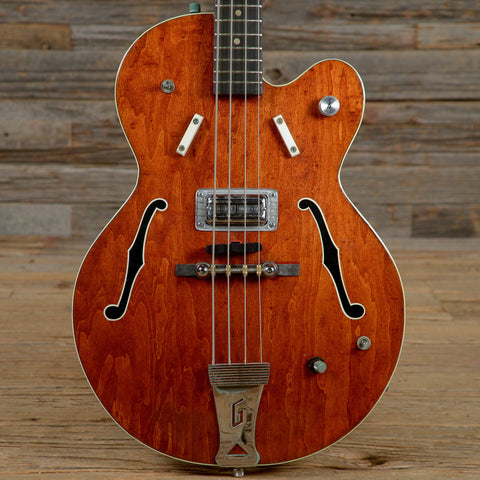 Gretsch 6071 Hollow Body Bass Burgundy 1968 (s666)