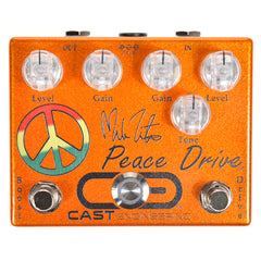 Cast Engineering Mike Zito's Peace Drive Dual Overdrive Pedal