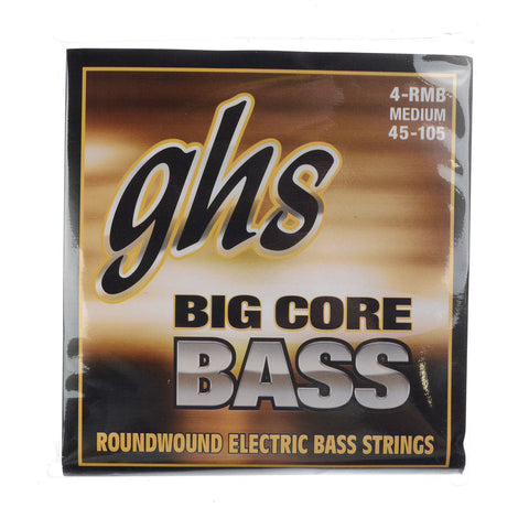 GHS Big Core Bass Roundwound Long Scale Plus Medium Bass 45-105