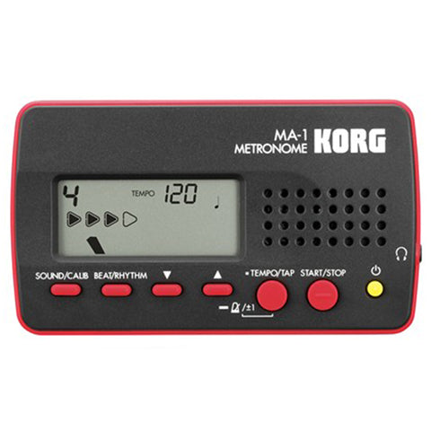 Korg MA‑1 Digital Metronome Red