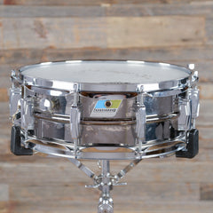 Ludwig 5x14 Black Beauty Snare Drum Late 1970s USED