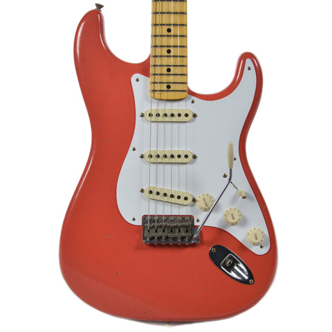 Fender Custom Shop 1958 Stratocaster Journeyman Relic MN Faded Fiesta Red (Serial # R89181)