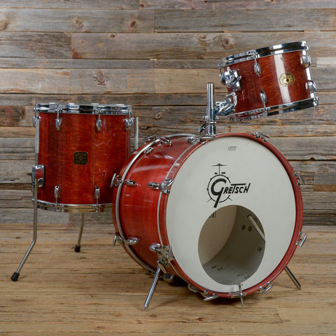 Gretsch 12/14/20 3pc Drum Kit Walnut Early 1980s USED