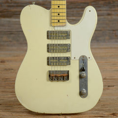 Nash GF-3 Vintage White MN Light Relic w/1-Ply White Pickguard & Lollar Gold Foils USED