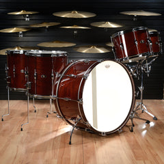 George Way Tradition Mahogany 13/14/16/18/26 5pc Kit Wine Red