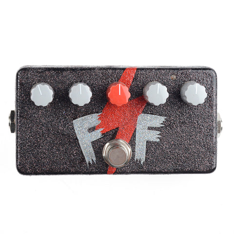 Zvex Fuzz Factory Custom Hand Painted FF Lightning Bolt on Bronze Sparkle by McGrath