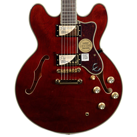 Epiphone Sheraton-II Pro Wine Red Floor Model
