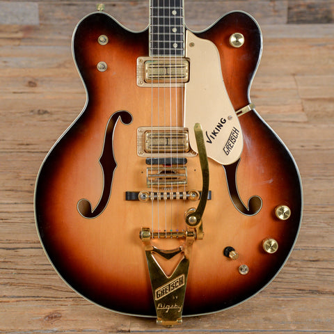 Gretsch 6187 Viking Sunburst 1967 (s300)