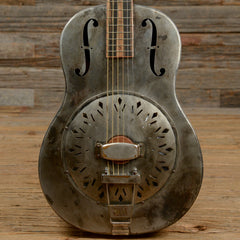 Mule Resonator #118 Slotted Headstock w/Upgraded Cone and Tuners (s118)
