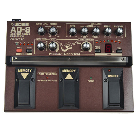 Boss AD-8 Acoustic Guitar Processor w/ COSM