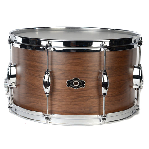George Way 8x14 Tradition Walnut Snare Drum Natural