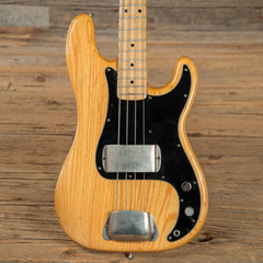 Fender Precision Bass MN Natural 1978 (s649)