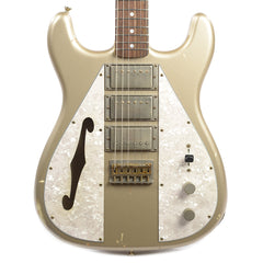 Nash WF-3 Wayfarer Shoreline Gold RW Light/Medium Relic w/3-Ply Pearl Pickguard & DiMarzio Humbuckers (Serial #277)