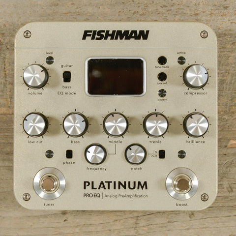 Fishman Platinum Pro EQ/DI USED