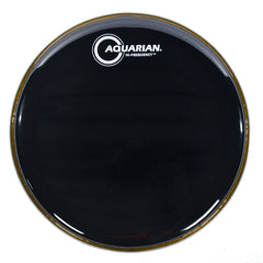 "Aquarian 16"" Hi-Frequency Drum Head Gloss Black"