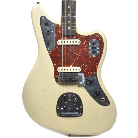 Fender Custom Shop 1962 Jaguar Journeyman Relic Vintage Blonde (Serial #: R85754)