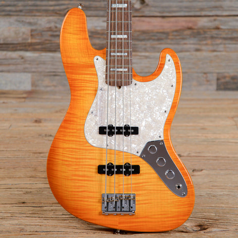 Fender Select Jazz Bass Amber Burst 2011 (s552)