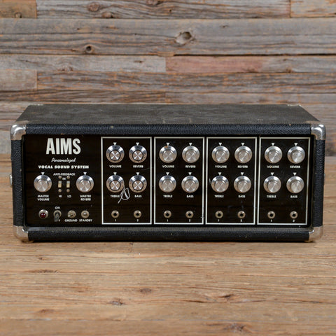 AIMS Personalized Vocal Sound System 1970s