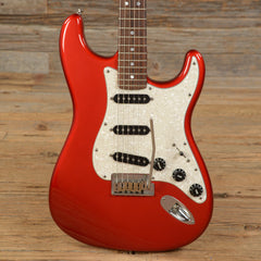 Fender American Deluxe Stratocaster Candy Apple Red 2005 (s690)