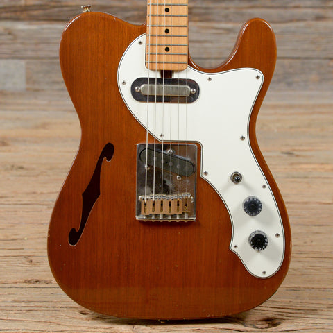 Aria Thinline T-Style Walnut w/Lollar Pickups USED (s208)