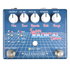 Alexander Pedals Super Radical Delay