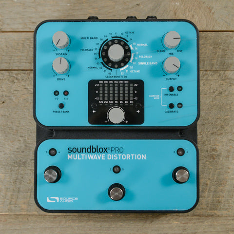 Source Audio Soundblox Pro Multiwave Distortion USED