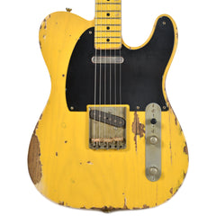 Nash T-52 Butterscotch Blonde Heavy Relic w/1-Ply Black Pickguard & Lollar Pickups (Serial #315)