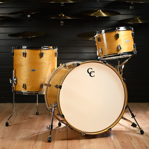 C&C Gladstone 13/16/22x16 3pc Kit Aged Maple Gloss w/Aged White Marine Pearl Inlay