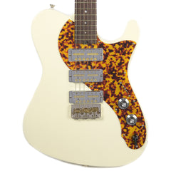Asher GT-3 Vintage White w/(3) Lollar Gold Foils (Serial #944)