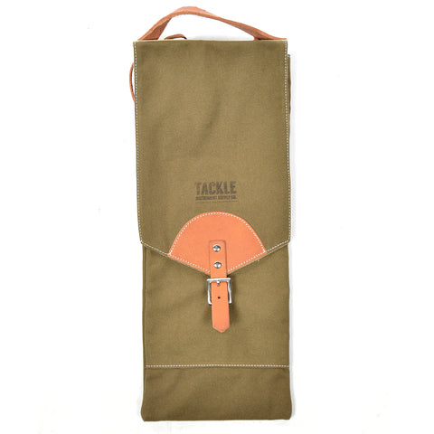 Tackle by McPherson Compact Stick Bag Canvas Green