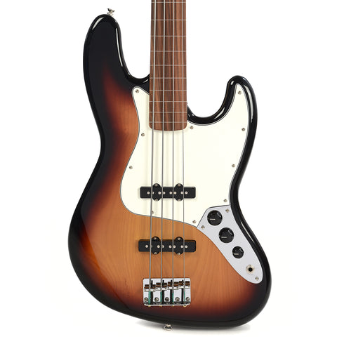 Fender Standard Jazz Bass Fretless PF Brown Sunburst