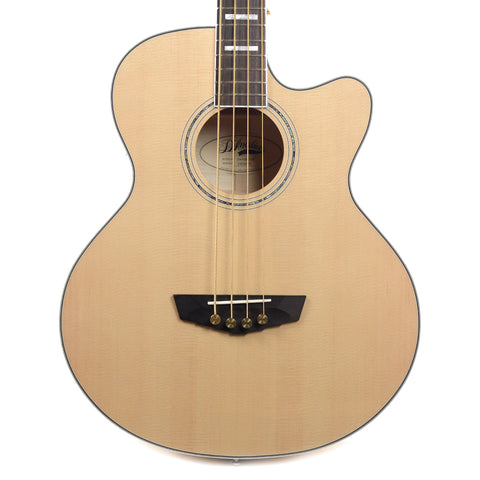 D'Angelico SB-700 Mott Acoustic Bass CE Sitka Spruce/Flame Maple Natural