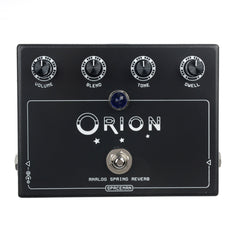 Spaceman Orion: Analog Spring Reverb Pedal Black Edition (Limited Edition of 99)