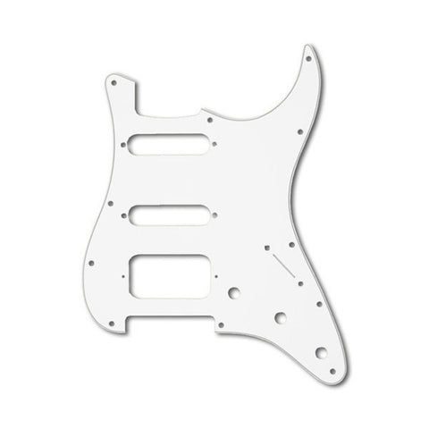 Allparts Pickguard for Stratocaster HSS 11-Hole 3-Ply White