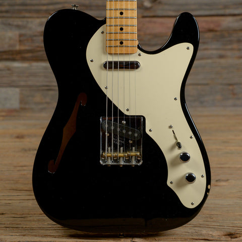 Fender CS Nocaster Thinline Black 2005 (s200)